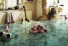 затопили соседи