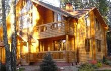 деревянный дом в москве